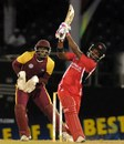 Darren Bravo hits one of his five sixes, Trinidad & Tobago v Leeward Islands, Caribbean T20, Trinidad, January 9, 2013
