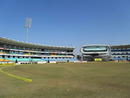 The stands at the new Saurashtra Cricket Association Stadium, Rajkot, January 10, 2013