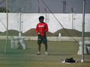 Ravindra Jadeja at practice ahead of the first India-England ODI