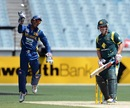 Dinesh Chandimal caught Aaron Finch, Australia v Sri Lanka, 1st ODI, Melbourne, January 11, 2013