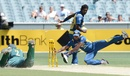 Jeevan Mendis fails to run out George Bailey, Australia v Sri Lanka, 1st ODI, Melbourne, January 11, 2013