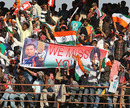 Crowds show their support for Sachin Tendulkar