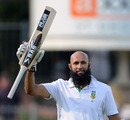Hashim Amla scored his 19th Test hundred