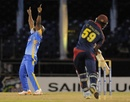Tino Best took four wickets, Barbados v CCC, Caribbean T20, January 11, 2013