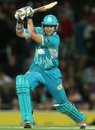 Luke Pomersbach hit current BBL's fastest fifty, Hobart Hurricanes v Brisbane Heat, BBL 2012-13, Hobart, January 12, 2013