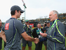 Ben Cutting gets his Australia cap from Greg Chappell