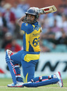 Lahiru Thirimanne drives behind square