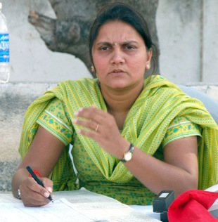 Hemali Desai, scorer, Saurashtra Cricket Association, Rajkot