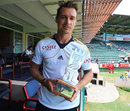 Dale Steyn with his Man of the Match award, South Africa v New Zealand, 2nd Test, Port Elizabeth, 4th day, January 14, 2013