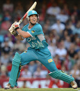 Luke Pomersbach scored a commanding century to lead Brisbane Heat to the final, Melbourne Renegades v Brisbane Heat, 1st semi-final, Melbourne (Docklands), January 15, 2013