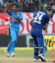 Bhuvneshwar Kumar took crucial wickets to peg England back