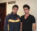 Siddarth Kaul with his brother Uday, Rajkot, January 15, 2013