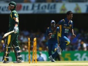 Nuwan Kulasekara destroyed Australia with lethal inswing