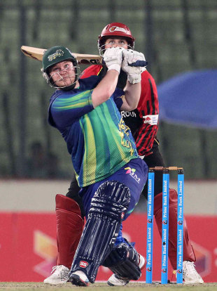 Paul Stirling's rapid fifty set up Sylhet Royals' win, Barisal Burners v Sylhet Royals, BPL 2012-13, Mirpur, January 18, 2013