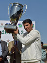 Misbah-ul-Haq lifts the President's Trophy