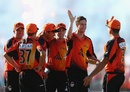 Jason Behrendorff took 2 for 38 for the Scorchers, Perth Scorchers v Brisbane Heat, BBL final, Perth, January 19, 2013