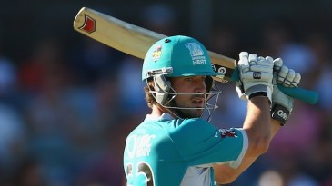 Joe Burns top scored for the Heat with 43 off 27 balls