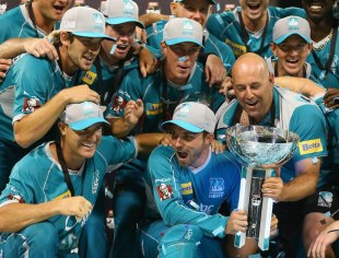 Brisbane Heat beat Perth Scorchers by 34 runs to win the BBL final at the WACA