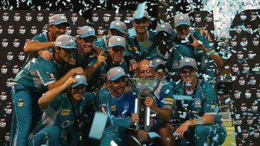 Brisbane Heat, champions of the Big Bash League