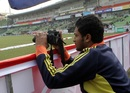 Shakib Al Hasan takes a picture on his off day, Chittagong Kings v Duronto Rajshahi, BPL 2012-13, Mirpur, January 19, 2013