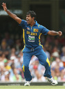 Nuwan Kulasekara took two early wickets to peg Australia back