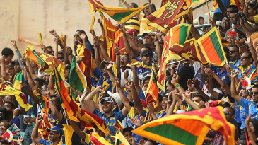 Sri Lanka's fans turned out in large numbers