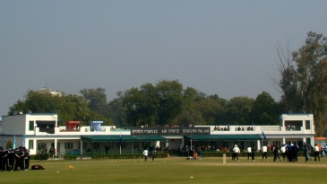 The Palam Ground in Delhi