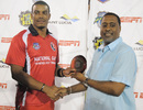 Shannon Gabriel was Man of the Match in the Caribbean T20 final