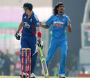Ishant Sharma had Kevin Pietersen caught behind, India v England, 3rd ODI, Ranchi, January 19, 2013