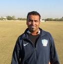 J Arunkumar at the Saurashtra University Ground, January 7, 2013