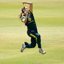 Ellyse Perry was Australia's most productive bowler in the first Twenty20, Australia v New Zealand, 1st Twenty20, Melbourne, January 22, 2013