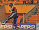 Rangpur Rider's Shamsur Rahman was bowled for 52 by Jacob Oram, Chittagong Kings v Rangpur Riders, Bangladesh Premier League, Khulna, January 22, 2013