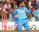Ravindra Jadeja celebrates after dismissing Samit Patel cheaply