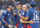 James Tredwell pegged India back with a couple of quick wickets, India v England, 4th ODI, Mohali, January 23, 2013