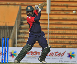Shamsur Rahman scored a 40-ball 66, Barisal Burners v Rangpur Riders, Bangladesh Premier League, Khulna, January 23, 2013