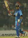 Suresh Raina scored an attacking half-century, India v England, 4th ODI, Mohali, January 23, 2013