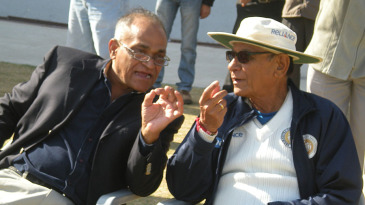 Debu Mitra has a word with Niranjan Shah