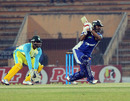 Shahriar Nafees drives on his way to a century, Khulna Royal Bengals v Duronto Rajshahi, Bangladesh Premier League, Khulna, January 24, 2013