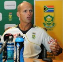 Gary Kirsten at a press conference on the eve of the third ODI against New Zealand, Johannesburg, January 24, 2013