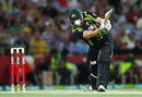 Adam Voges drives during his return to the Australia team