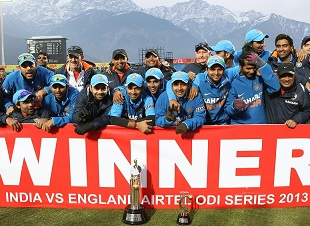 Despite losing the fifth ODI to England at Dharamsala, India won the series 3-2