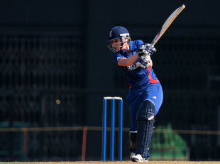 Charlotte Edwards top-scored with 78, England v South Africa, Women's World Cup warm-up, Mumbai, January 28, 2013