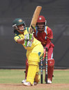 Lisa Sthalekar made fifty before retiring hurt, Australia v West Indies, Women's World Cup warm-up, Mumbai, January 28, 2013