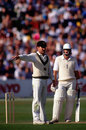 Allan Border sets the field, The Ashes, 5th Test, Trent Bridge, August 10, 1989