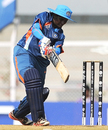 Opener Thirush Kamini played steadily to provide India a safe start, India v West Indies, Women's World Cup 2013, Mumbai, January 31, 2013