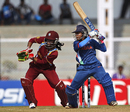 Poonam Raut cuts on her way to 72, India v West Indies, Women's World Cup 2013, Group A, Mumbai, January 31, 2013