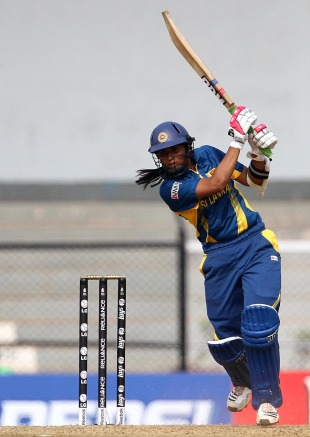 Shashikala Siriwardene scored 34, England v Sri Lanka, Women's World Cup 2013, Group A, Mumbai, February 1, 2013