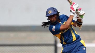 Shashikala Siriwardene scored 34