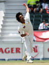Rahat Ali bowls on debut, South Africa v Pakistan, 1st Test, Johannesburg, February 1, 2013