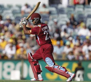 Kieran Powell scored 83 off 90 deliveries, Australia v West Indies, 2nd ODI, Perth, February 3, 2013